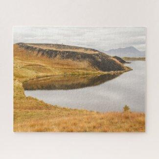 Puzzle Landscape of Iceland - Lake Myvatn