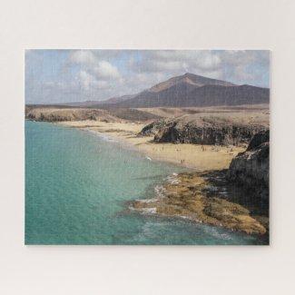Puzzle Landscape of Lanzarote - Papagayo