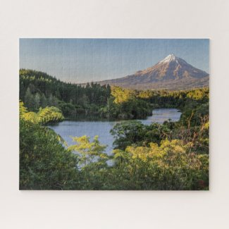 Puzzle Landscape of New Zealand - Taranaki