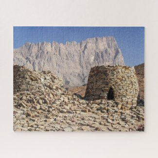 Puzzle Landscape of Oman - Beehive Tombs