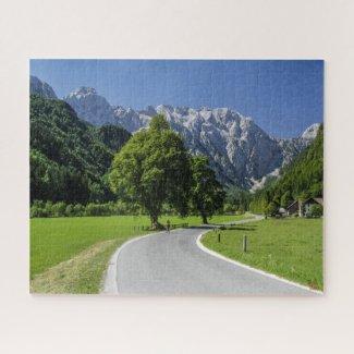 Puzzle Landscape of Slovenia - Logar Valley
