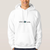 Puzzle Life Is A Jigsaw Puzzle. Hoodie