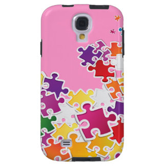 Puzzle Look Samsung Galaxy S4 Case