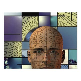 Puzzle Man Card