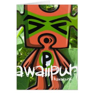 Puzzle Mascot Card