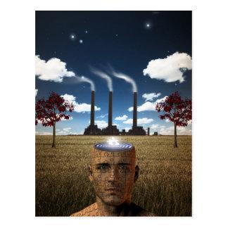 Puzzle Mind Ripples Postcard
