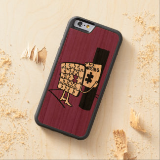 Puzzle Missing Carved® Cherry iPhone 6 Bumper