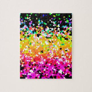 Puzzle Mosaic Sparkley Texture