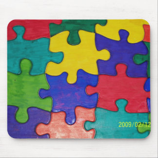 puzzle mouse pad