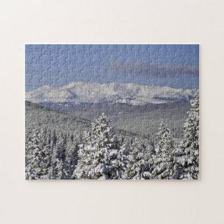 Puzzle: Mt Massive Winter
