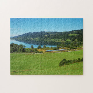 Puzzle of large Alpsee