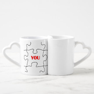 Puzzle of Love Lovers Mug