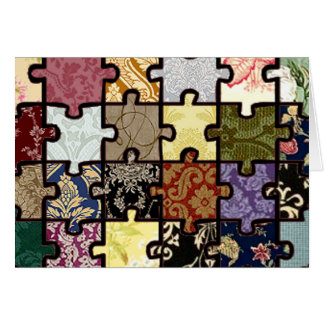 Puzzle Patchwork Card