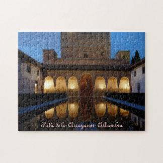 Puzzle Patio de los Arrayanes - Alhambra - Granada