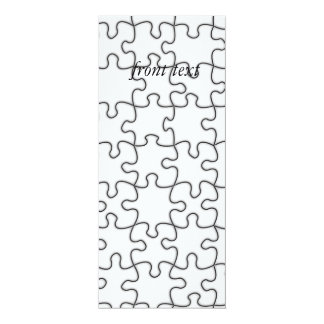 Puzzle Pattern (Add Your Image) Card