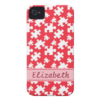 Puzzle Pattern Case-Mate iPhone 4 Case