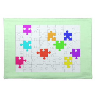Puzzle Pattern MoJo Placemat