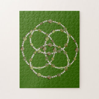 Puzzle - Pearls and Stones Intersecting