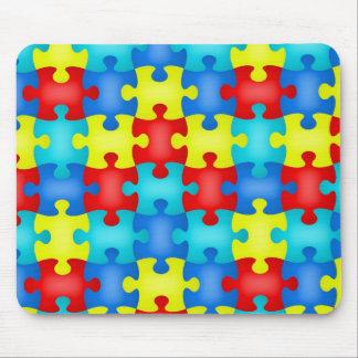 Puzzle Piece Autism Awareness Mousepad