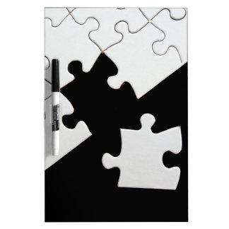 Puzzle Piece Dry-Erase Board