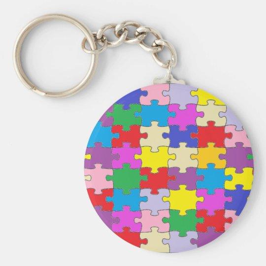 Puzzle Piece Keychain