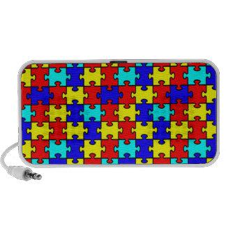 puzzle piece speakers