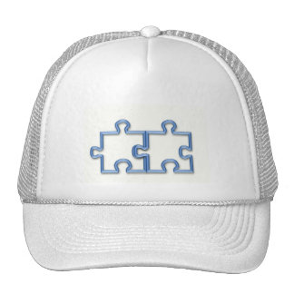 Puzzle Pieces Baseball Hat