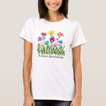 Puzzle pieces garden, Autism Awareness shirt