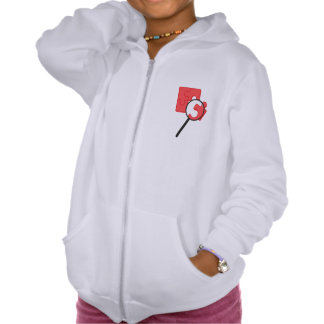 Puzzle Pieces Girls Hoodie