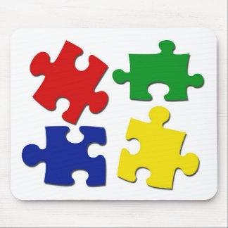 Puzzle Pieces Mousepad