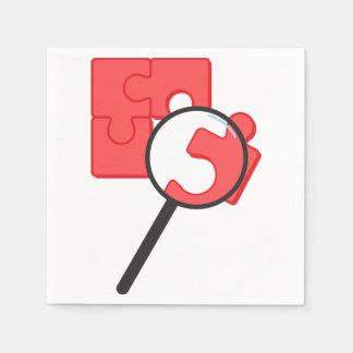 Puzzle Pieces Paper Napkins