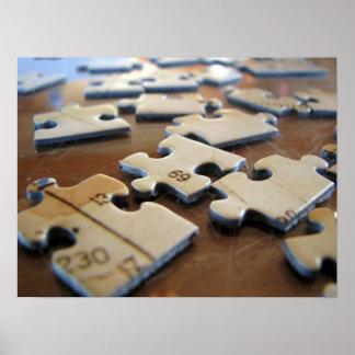 Puzzle Pieces Print