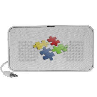 Puzzle Pieces PC Speakers
