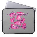 puzzle pink laptop computer schutzhülle