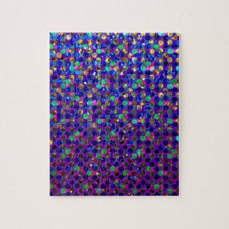 Puzzle Polka Dot Sparkley Jewels