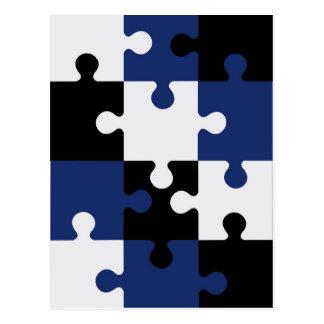 Puzzle Postcard