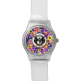 Puzzle Ribbon Penguin Watch
