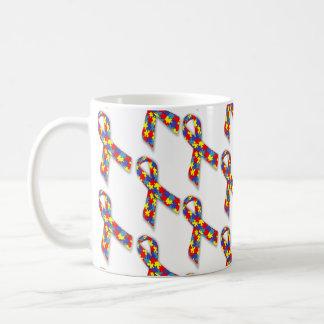 Puzzle Ribbons Coffee Mug