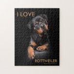 """Puzzle Rottweiler<br><div class=""""desc"""">by www.dog-shooting.ch</div>"""