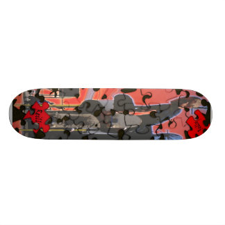 puzzle skate decks