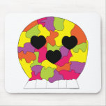 Puzzle Skull Mousepad