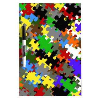 Puzzle Stones Dry-Erase Whiteboards
