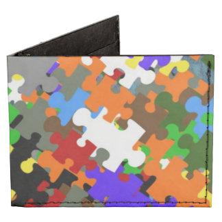 Puzzle Stones Tyvek® Billfold Wallet