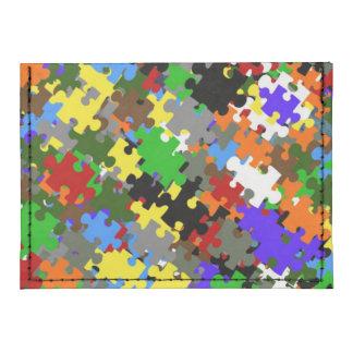 Puzzle Stones Tyvek® Card Case Wallet