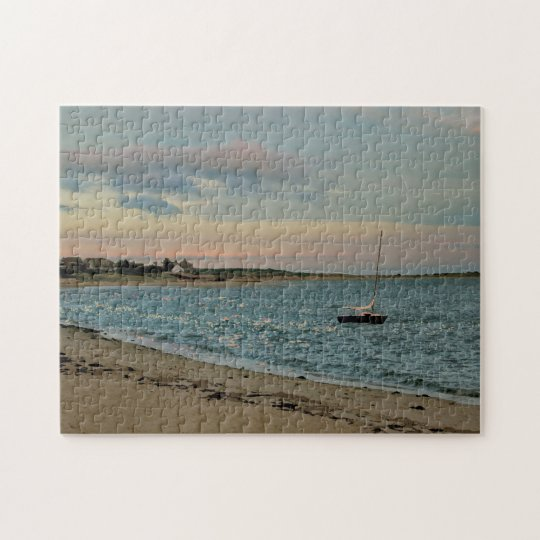 Puzzle - Sunset, Cockle Cove Beach, Cape Cod