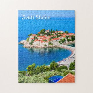 Puzzle Sveti Stefan