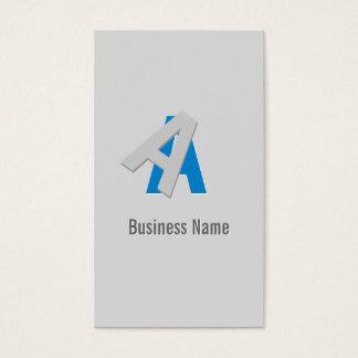 Puzzle Text Political Scientist Business Card