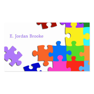 Puzzle V2 Business Card Templates