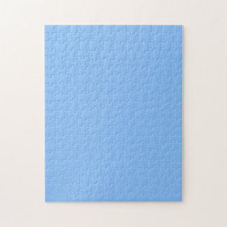 Puzzle with Baby Blue Background