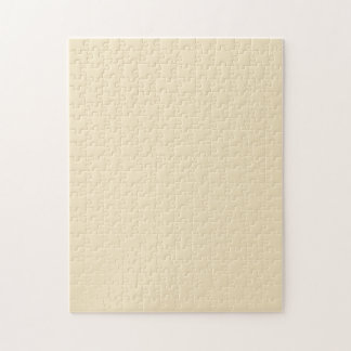 Puzzle with Cream Ecru Beige Background